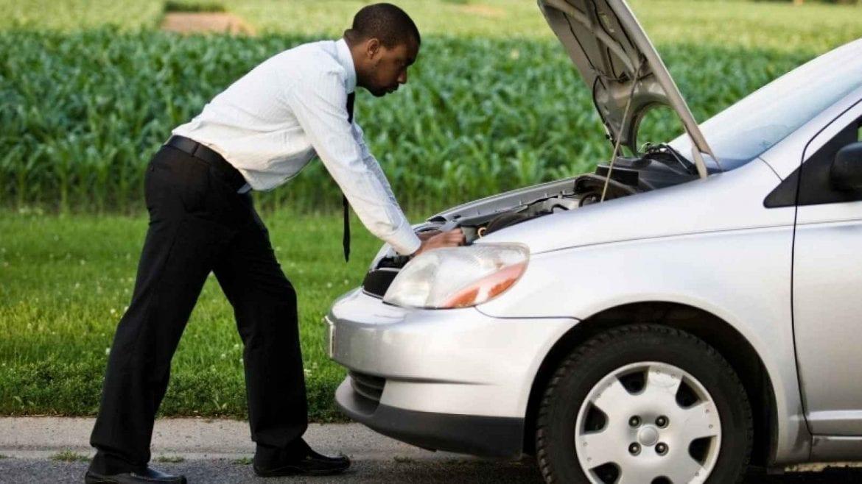 Broken-Down Vehicle